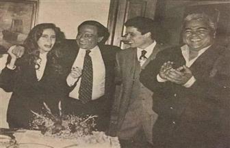 عادل إمام يحيي ذكرى وفاة عامر منيب بصورة.. ورواد السوشيال ميديا يتفاعلون معها