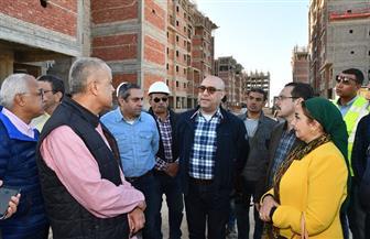 """وزير الإسكان يختتم جولة العلمين الجديدة بتفقد 4096 وحدة سكنية بـ""""سكن مصر"""""""