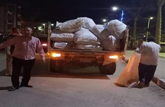 رفع 8 أطنان قمامة بمدينة طور سيناء