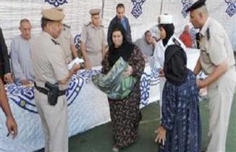 الداخلية توجه قوافل خدمية وإنسانية لقري محافظة بنى سويف
