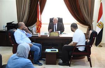 محافظ بورسعيد يلتقى بعدد من مستثمري المنطقة الصناعية بجنوب بورسعيد   صور