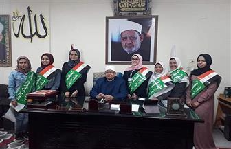 انتخاب المكتب التنفيذي لاتحاد طالبات معاهد البحر الأحمر الأزهرية | صور