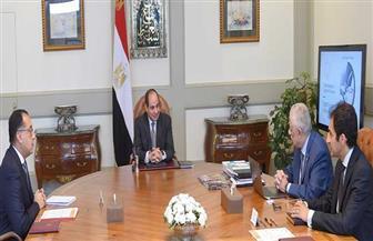 تفاصيل اجتماع الرئيس السيسي مع رئيس مجلس الوزراء ووزير التربية والتعليم