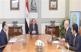 تفاصيل اجتماع الرئيس السيسي مع رئيس الوزراء ووزير الإسكان