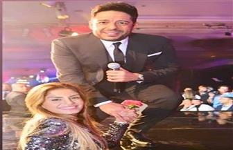منة فضالي توجه رسالة لمحمد حماقي بمناسبة عيد ميلاده
