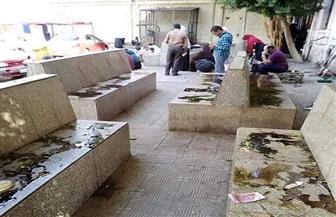 القبض علي موظف بالأمن الإداري بالقصر العيني القديم لإلقاء زيت على مقاعد انتظار المرضى