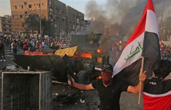 مقتل 4 متظاهرين وإصابة 100 قرب بوابات ميناء أم قصر العراقي