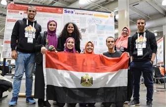 """طلاب """"علوم القاهرة"""" يفوزون بالبرونزية في المسابقة العالمية للهندسة الوراثية IGEM بأمريكا"""