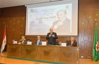 رئيس جامعة القاهرة: للفن أدوار متعددة في تطوير المجتمع وتحرير الوجدان | صور