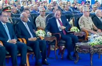 بث مباشر لافتتاح الرئيس السيسي عددا من المشروعات القومية بالسويس وجنوب سيناء