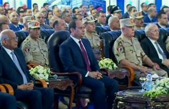 الرئيس السيسي يشهد عبر الفيديو كونفرانس افتتاح الرصيف البحرى لشركة سوميد