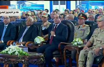الرئيس السيسي: تكلفة المشروعات التي يتم تنفيذها في سيناء تصل إلى 800 مليار جنيه