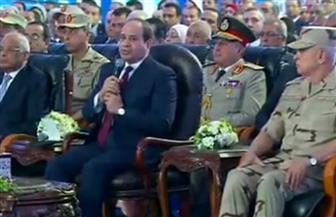 الرئيس السيسي يفتتح عددا من المشروعات عبر الفيديو كونفرانس بالسويس وجنوب سيناء