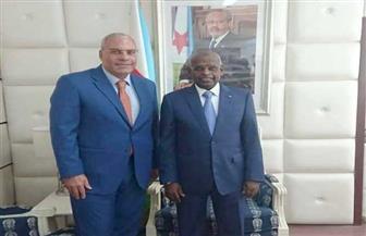 رئيس وزراء جيبوتي يستقبل السفير المصري