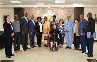 أعضاء البرلمان الأوغندي يزورون «القومي للمرأة» | صور