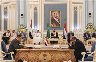 التوقيع على اتفاق الرياض بحضور ولي العهد السعودي ومحمد بن زايد