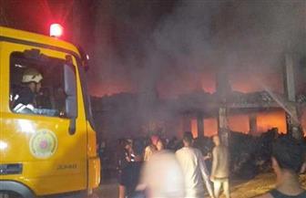 النيابة تقرر انتداب المعمل الجنائي للوقوف على أسباب حريق مصنع «موتوسيكلات» قليوب