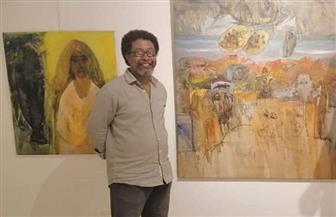 التشكيلي محمد عرابى: عنونة اللوحة تفتح مجالا للتساؤل والحوار الفنى | صور