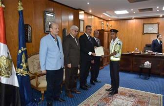 تكريم ضباط وأفراد ومجندي إدارة مرور شرم الشيخ لتميزهم