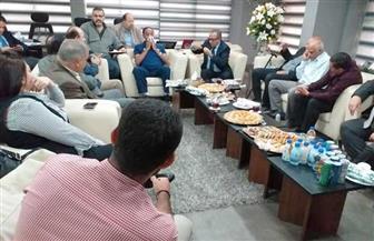 عمرو الجنايني: نعمل للمصلحة العامة فقط.. وتطوير اللعبة مسئوليتنا| صور