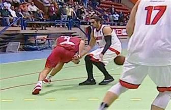 اشتباكات بين لاعبي الأهلي والزمالك عقب انتهاء مباراة كأس مصر لكرة السلة