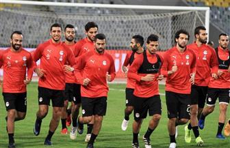 المنتخب الوطني يبدأ تدريباته ببرج العرب استعدادا لليبيريا وديا| صور