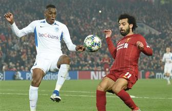 صلاح يصنع هدف فوز ليفربول على جينك ليتصدر مجموعته في دوري الأبطال