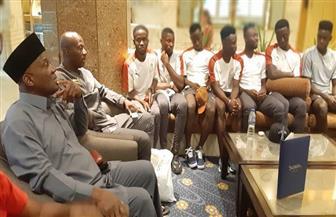 """""""أمم إفريقيا تحت 23"""".. سفير غانا يدعم منتخب بلاده الأوليمبي من القاهرة"""