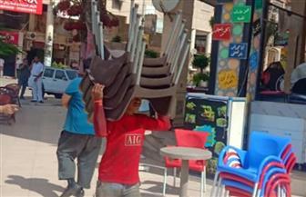 جهاز دمياط الجديدة يشن حملة لإزالة الإشغالات والمخالفات بالمناطق السكنية بالمدينة | صور