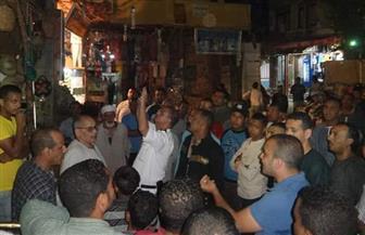 حملة لإزالة الإشغالات بالسوق السياحية في مدينة الأقصر | صور