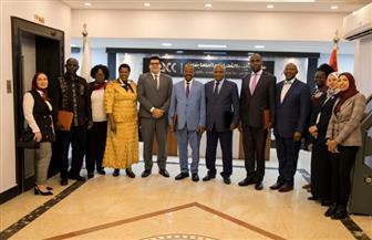وفد أوغندي رفيع المستوى يشيد بخطة الإصلاح الإداري المصرية | صور