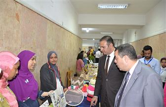 افتتاح معرض «منتجي» للمشغولات اليدوية بجامعة الإسكندرية   صور