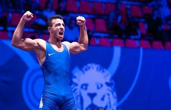 وزير الرياضة يهنئ «كيشو» على لقب أفضل مصارع روماني في العالم