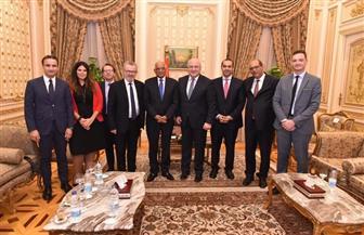 عبدالعال يستقبل جورج تسيرتلي رئيس الجمعية البرلمانية لمنظمة الأمن والتعاون في أوروبا| صور