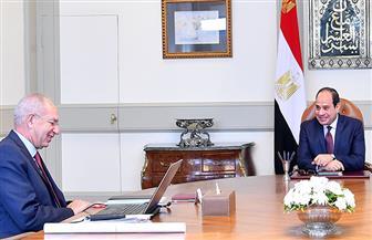 الرئيس السيسي يوجه بتضافر عمل مؤسسات الدولة لإنجاح المشروعات بالمنطقة الاقتصادية للقناة