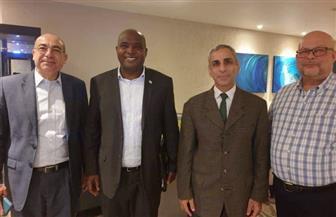 السفير المصري في سيراليون يستقبل مهمة لجنة بناء السلام التابعة للأمم المتحدة