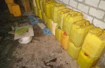 ضبط 5 أطنان زيت طعام غير صالح للاستهلاك قبل بيعها للمواطنين بسوهاج | صور