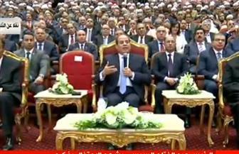 """الرئيس السيسي لوزير الأوقاف: """"فين بقية الحاجات التانية للأئمة؟!"""""""