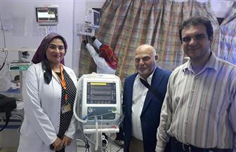 جهاز تنفس صناعي متعدد السرعات يدخل الخدمة في مستشفى زفتى العام | صور
