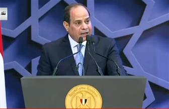 """الرئيس السيسي: كلمة """"أخوة إنسانية"""" كلمة عامة بحاجة إلى إستراتيجيات"""
