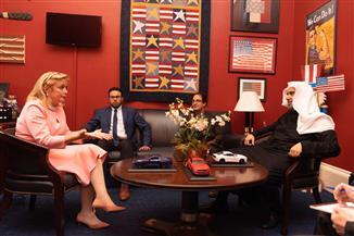 المجلس الوطني للعلاقات العربية الأمريكية يكرم رابطة العالم الإسلامي