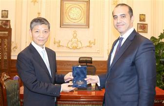 أمين عام مجلس النواب يستقبل السفير الصيني بالقاهرة | صور
