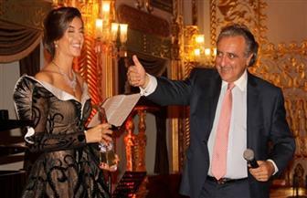 إهداء جائزة حسن كامي لفرح الديباني بقصر الأمير محمد علي