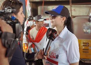 كلوديا حنا تقود حملة تطوعية لمساندة المتظاهرين في العراق | صور