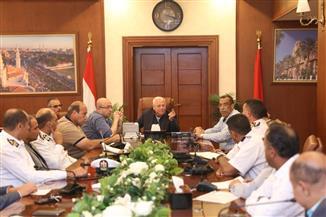 محافظ بورسعيد: تنظيم حركة دخول وخروج حركة الشاحنات بالميناء السبت المقبل