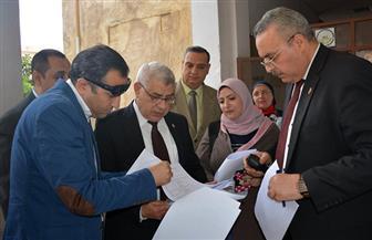 نائب رئيس جامعة طنطا يتابع انتخابات اتحاد الطلاب.. و793 طالبا وطالبة يتنافسون على عضوية 7 لجان | صور