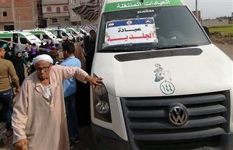 الكشف الطبي على 2200 مريض في قرية الزعاترة  بدمياط | صور