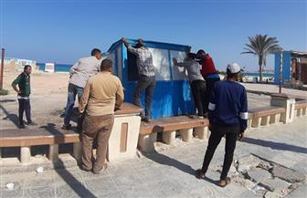 محافظ مطروح: حملة لإزالة الإشغالات والتعديات بكورنيش مرسى مطروح وشوارع العلمين | صور