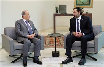 الحريري يجتمع مع الرئيس اللبناني لمواصلة المحادثات