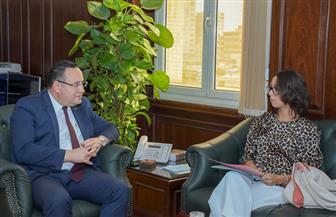 محافظ الإسكندرية يستقبل قنصل عام فرنسا | صور